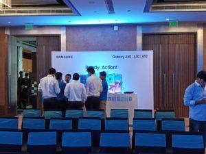 Samsung galaxy A50A30A10 Launch